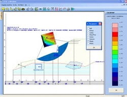 Slope stability test CDD Win by STS