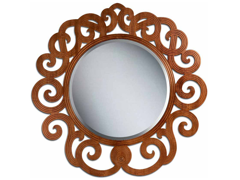 Wall-mounted framed mirror NOVECENTO | Wall-mounted mirror by Carpanelli Classic