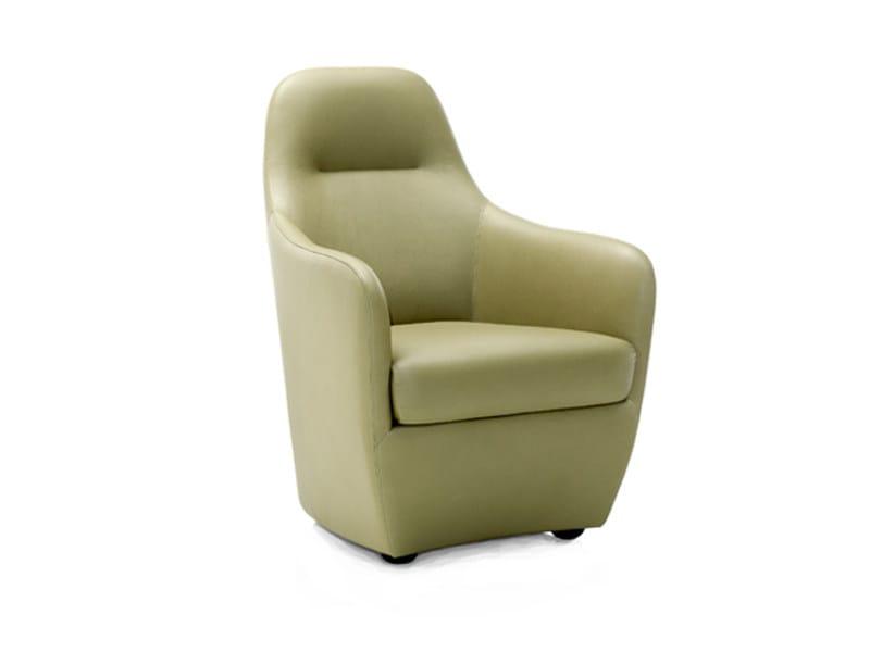 Armchair with footstool BONNIE   Armchair by Wittmann