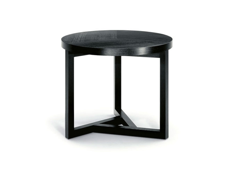 Round wooden coffee table MOKKA V by Wittmann