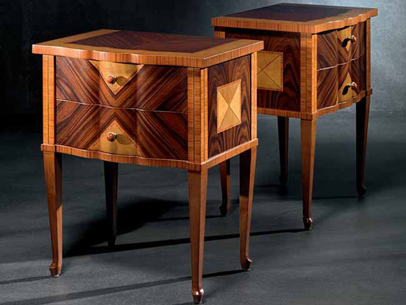 Briar bedside table with drawers SISSI | Bedside table by Carpanelli Classic