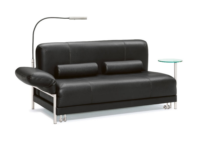 Leather sofa bed PLUG - IN by Wittmann