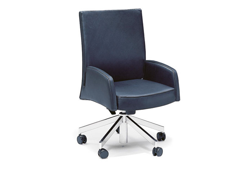Executive chair with casters TIMES   Executive chair by Wittmann