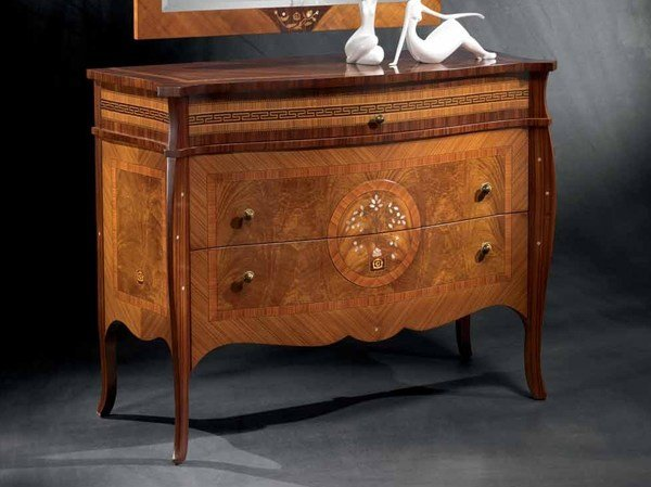Classic style wooden chest of drawers POIS | Chest of drawers by Carpanelli Classic