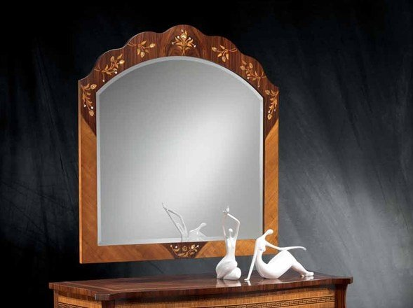 Wall-mounted framed mirror MILLENNIUM | Mirror by Carpanelli Classic