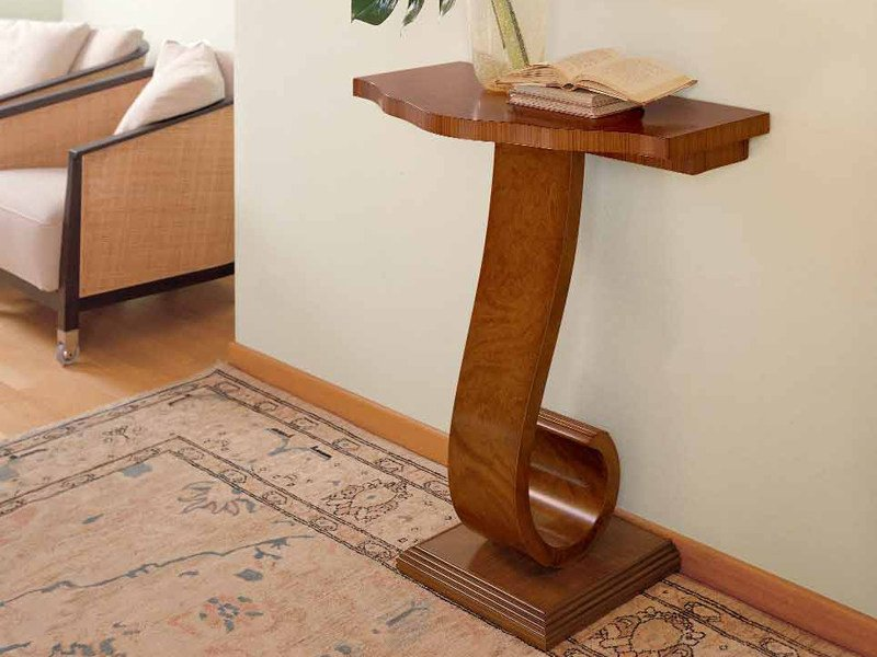 Classic style solid wood console table ZEBRANO | Console table by Carpanelli Classic