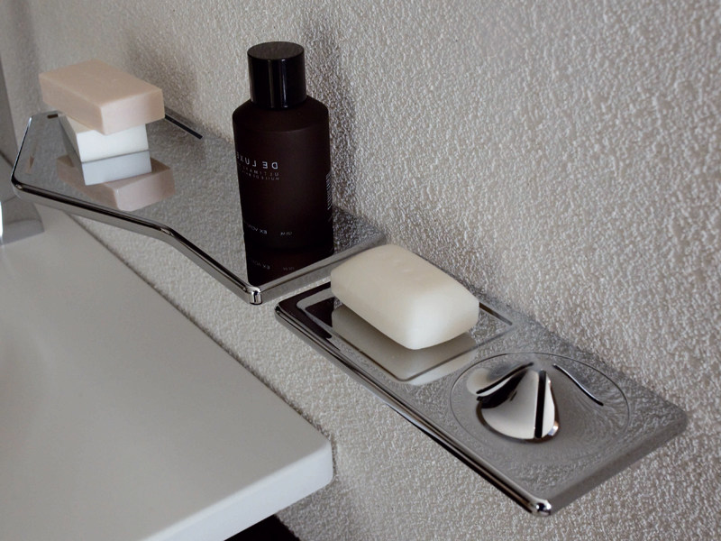 Bathroom wall shelf FARAWAY | Bathroom wall shelf by ZUCCHETTI