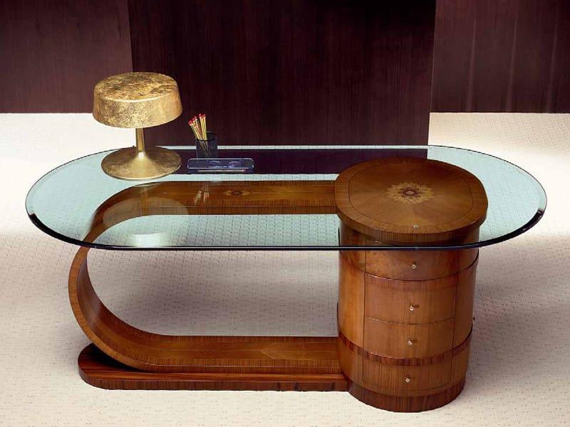 Zebrano writing desk ZEBRANO   Writing desk by Carpanelli Classic