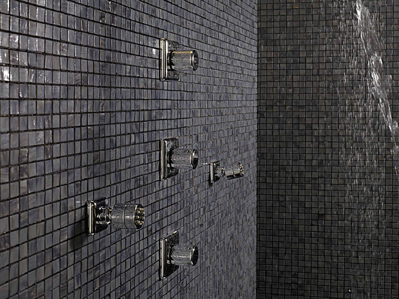 Chrome-plated thermostatic shower mixer FARAWAY | Thermostatic shower mixer by ZUCCHETTI