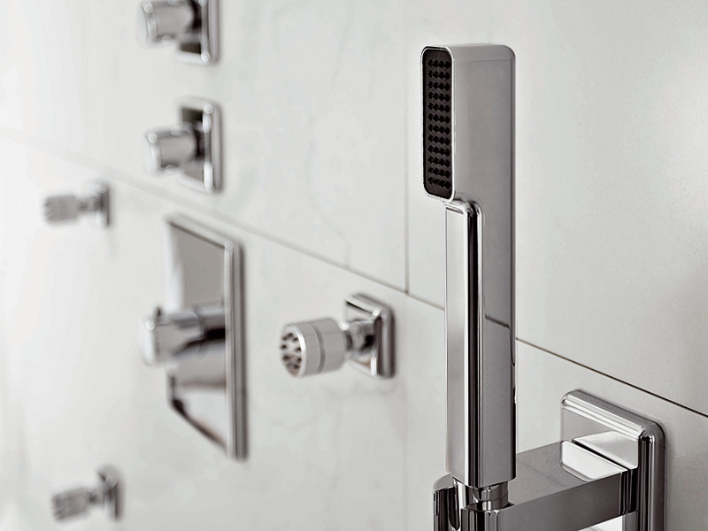 Wall-mounted handshower with anti-lime system FARAWAY   Handshower by ZUCCHETTI