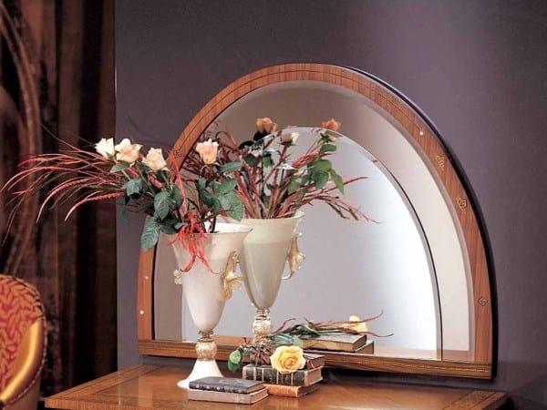 Wall-mounted framed mirror AURORA | Mirror by Carpanelli Classic