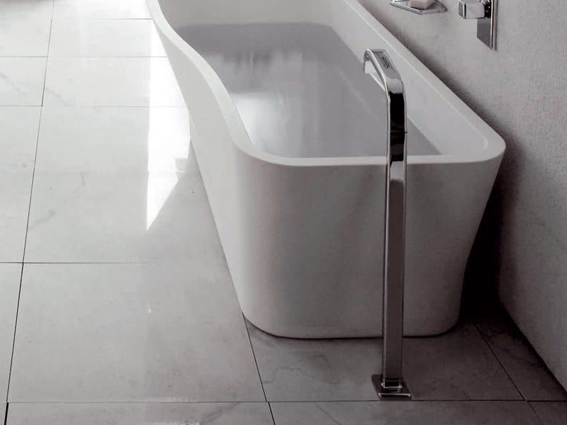 Floor standing bathtub spout FARAWAY   Bathtub spout by ZUCCHETTI