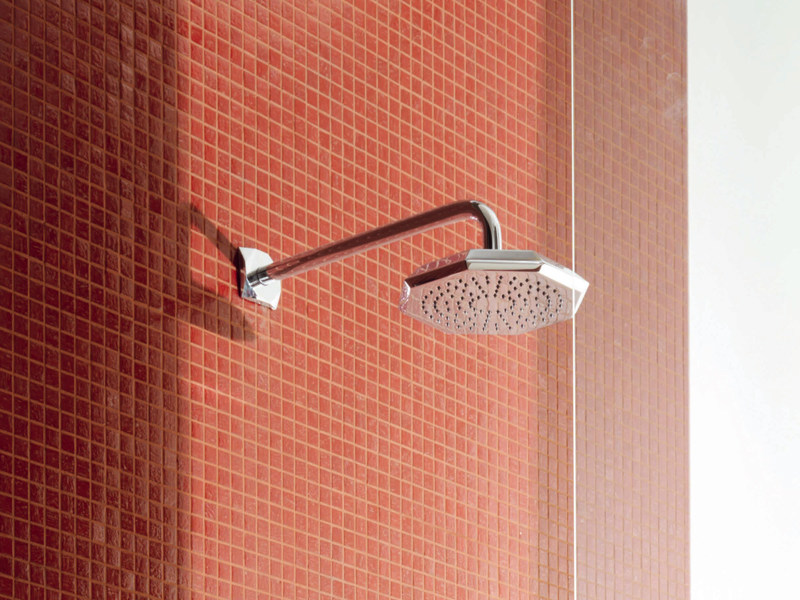 Wall-mounted overhead shower with arm WOSH   Wall-mounted overhead shower by ZUCCHETTI