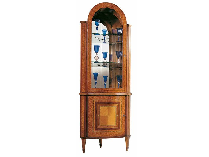 Mahogany display cabinet SINFONIA   Display cabinet by Carpanelli Classic