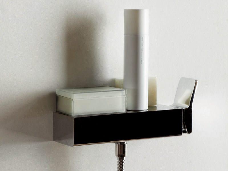 Chrome-plated 1 hole shower mixer SOFT   1 hole shower mixer by ZUCCHETTI