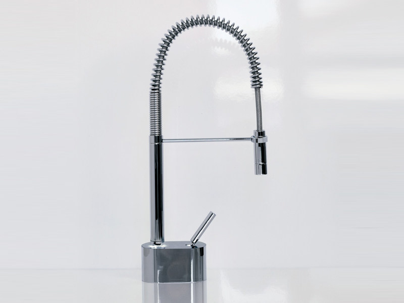 Kitchen mixer tap with pull out spray PAN | Professional kitchen mixer tap by ZUCCHETTI