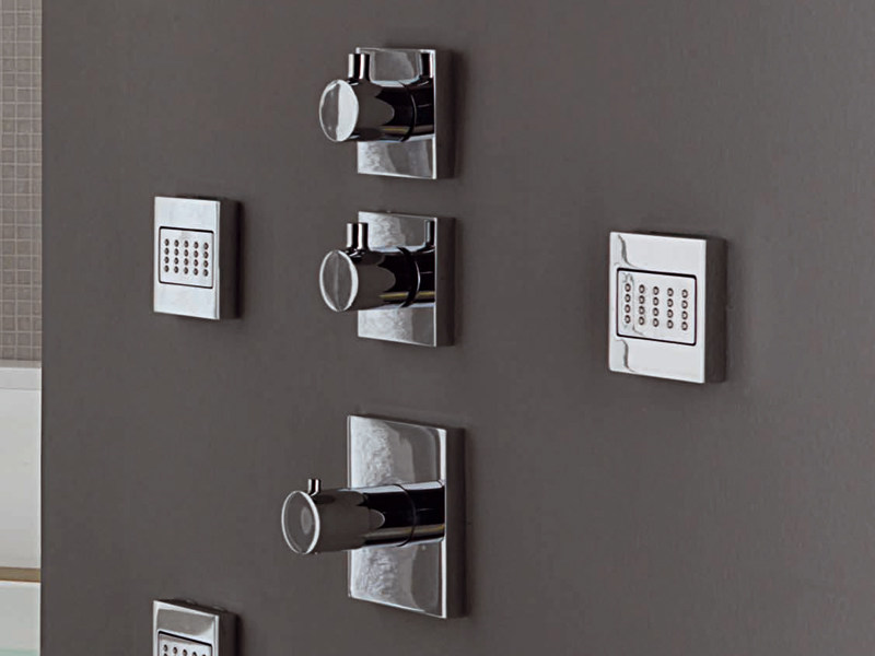 Chrome-plated thermostatic shower mixer PAN   Thermostatic shower mixer by ZUCCHETTI