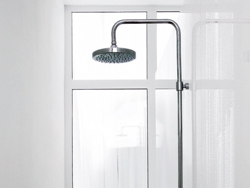 Shower panel with overhead shower PAN | Shower panel with overhead shower by ZUCCHETTI