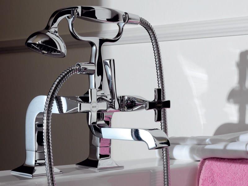 Wall-mounted bathtub tap with hand shower BELLAGIO | Bathtub tap by ZUCCHETTI