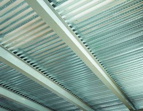 Steel-concrete loadbearing floor slab SOLAC® 55 by ELCOM SYSTEM