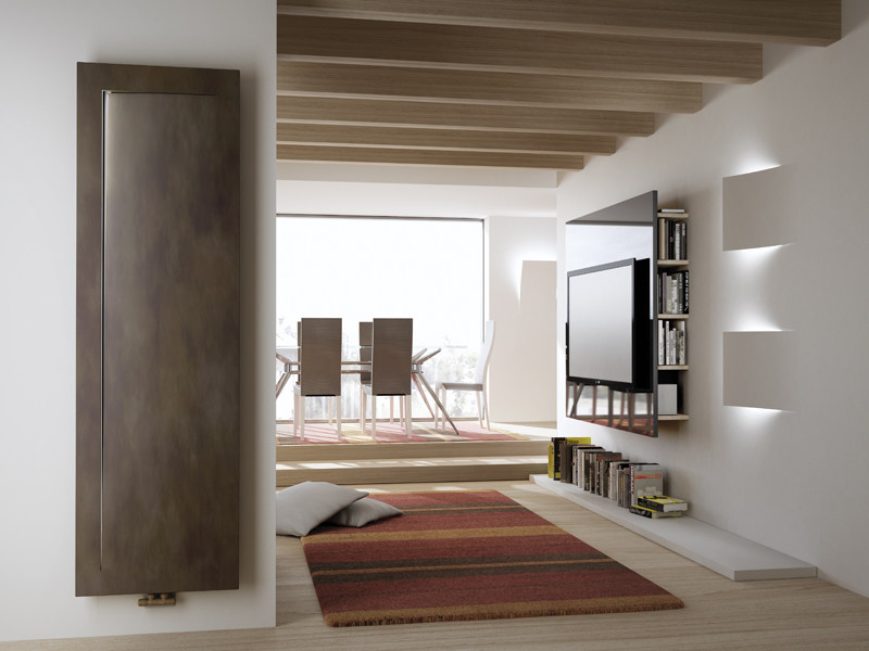 Wall-mounted steel decorative radiator IMMAGINA by IRSAP