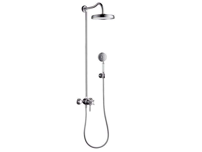 Multifunction shower panel AXOR MONTREUX | Shower panel by hansgrohe