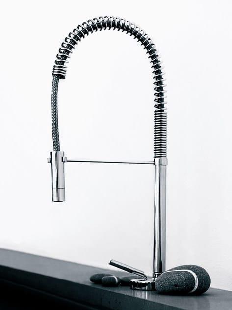 Miscelatore da cucina con doccetta estraibile ISYSTICK | Miscelatore ...