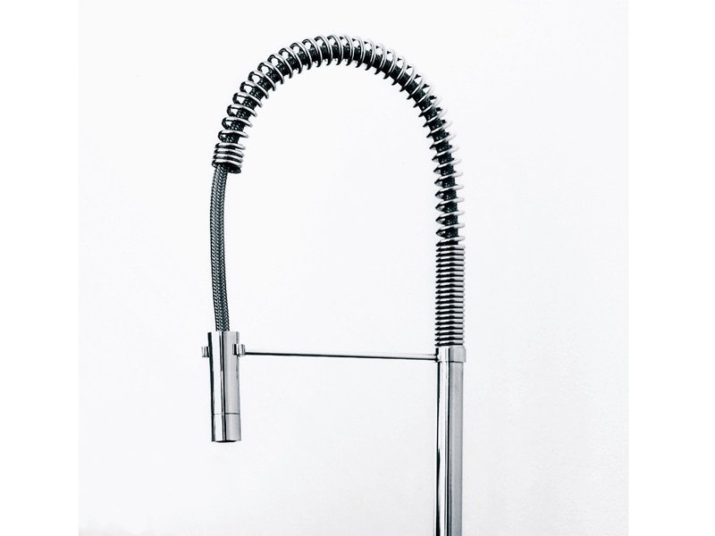 Kitchen mixer tap with pull out spray ISYSTICK | Kitchen mixer tap by ZUCCHETTI