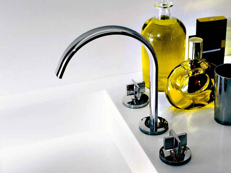 3 hole chrome-plated washbasin tap ISYFRESH | Washbasin tap by ZUCCHETTI