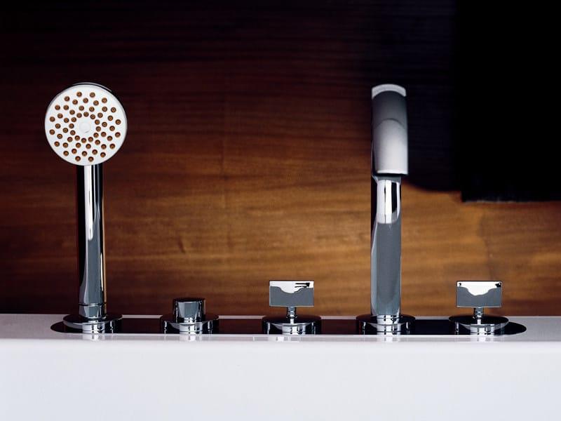 5 hole bathtub set with hand shower ISYFRESH | Bathtub set by ZUCCHETTI
