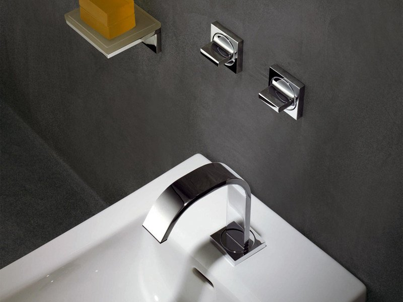 Wall-mounted chrome-plated bidet tap AGUABLU   Bidet tap by ZUCCHETTI