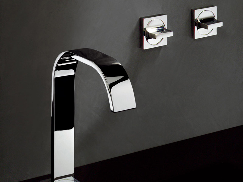 Wall-mounted chrome-plated washbasin tap AGUABLU | Washbasin tap by ZUCCHETTI