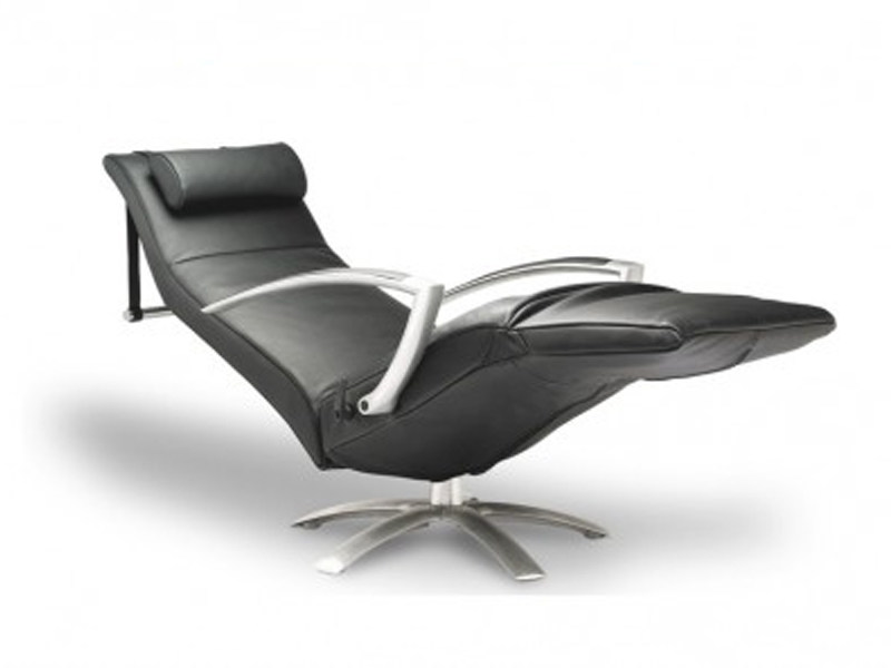Reclining chair with armrests and headrest BRAINBUILDER by JORI
