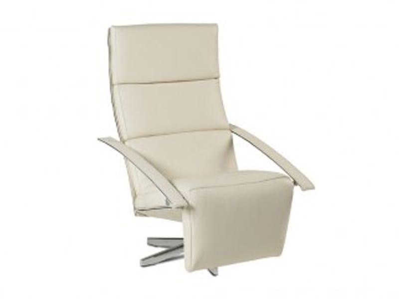 Relax Fauteuil Jori.Reclining Chair With Headrest And Footstool Casanova By