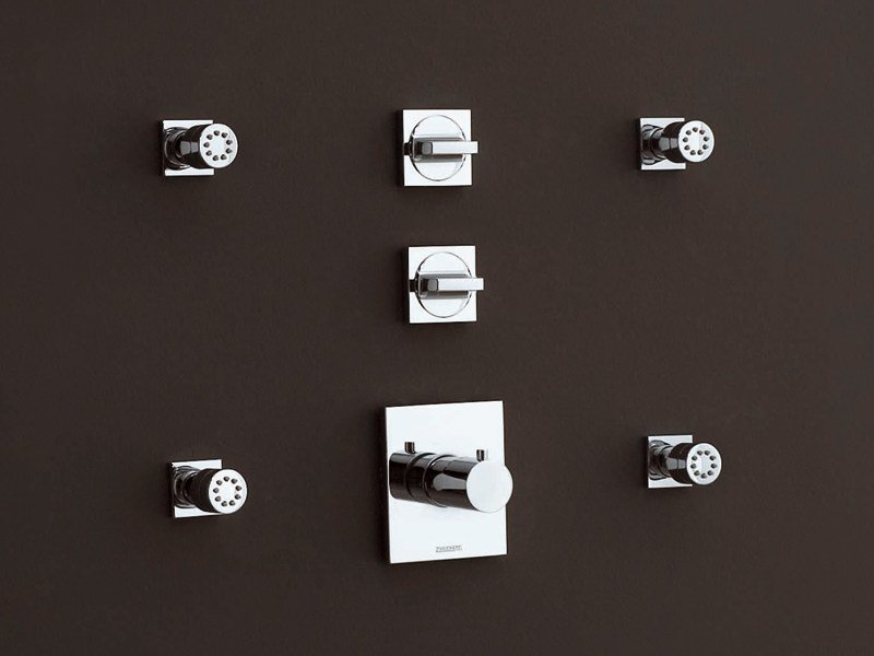 Chrome-plated thermostatic shower tap AGUABLU   Thermostatic shower tap by ZUCCHETTI
