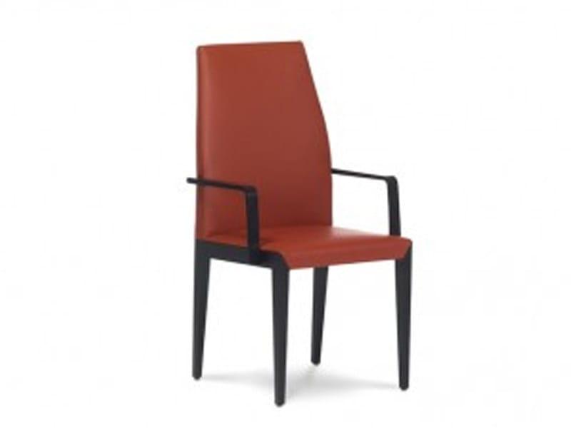 Upholstered chair FLAVA by JORI