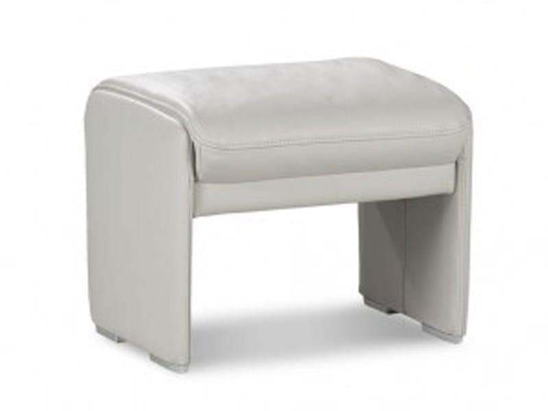 Upholstered pouf INDY   Pouf by JORI