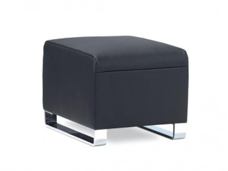 Upholstered pouf NAVY | Pouf by JORI