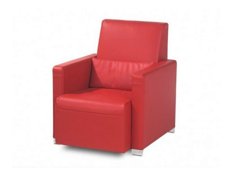 Upholstered armchair with armrests LINDO | Armchair by JORI