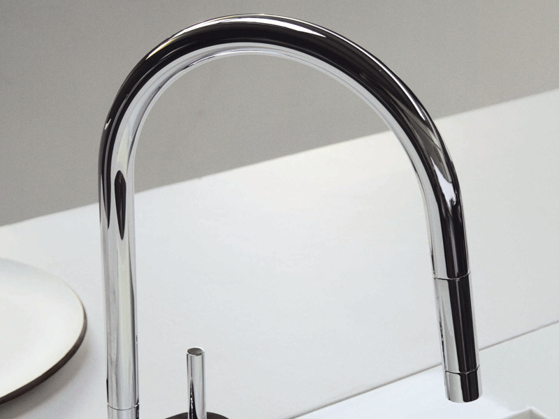 PAN | Miscelatore da cucina cromato By ZUCCHETTI design ...