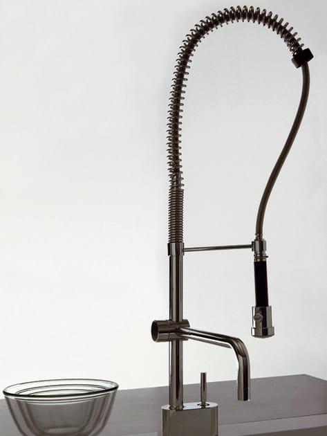 PAN | Miscelatore da cucina con doccetta By ZUCCHETTI design ...