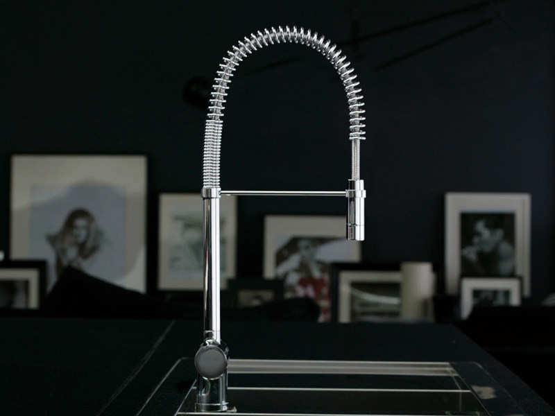 1 hole professional kitchen mixer tap PAN | Professional kitchen mixer tap by ZUCCHETTI