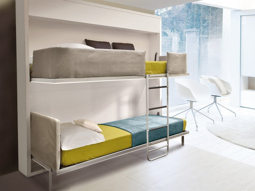 Letto A Scomparsa Clei.Pull Down Bed Lollisoft In By Clei Design Giulio Manzoni