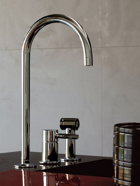 PAN | Miscelatore da cucina a 3 fori By ZUCCHETTI design ...