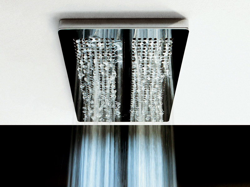 Ceiling mounted stainless steel overhead shower Z94151 | Overhead shower by ZUCCHETTI