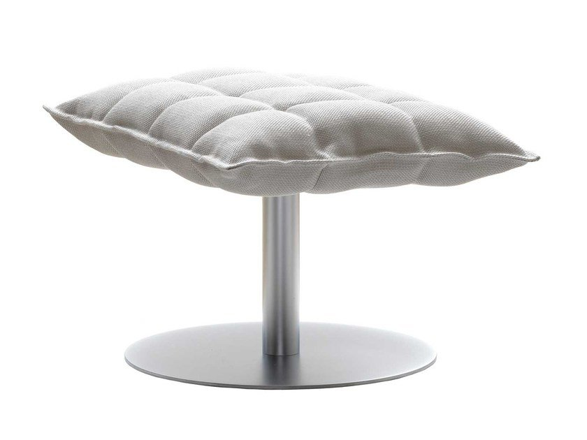 Fabric footstool K OTTOMAN by Woodnotes