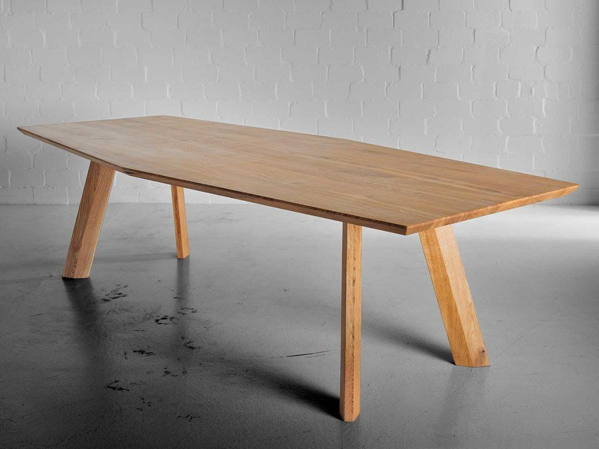 Solid wood table RHOMBI | Table by Vitamin Design