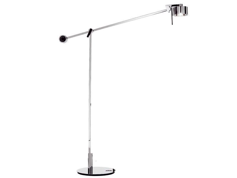 Adjustable chrome plated floor lamp AX20   Floor lamp by AXOLIGHT