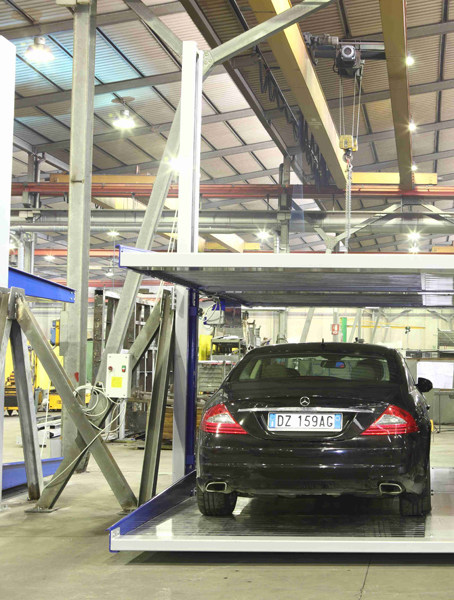 Automatic parking systems SPACER 25/2 by O.ME.R.