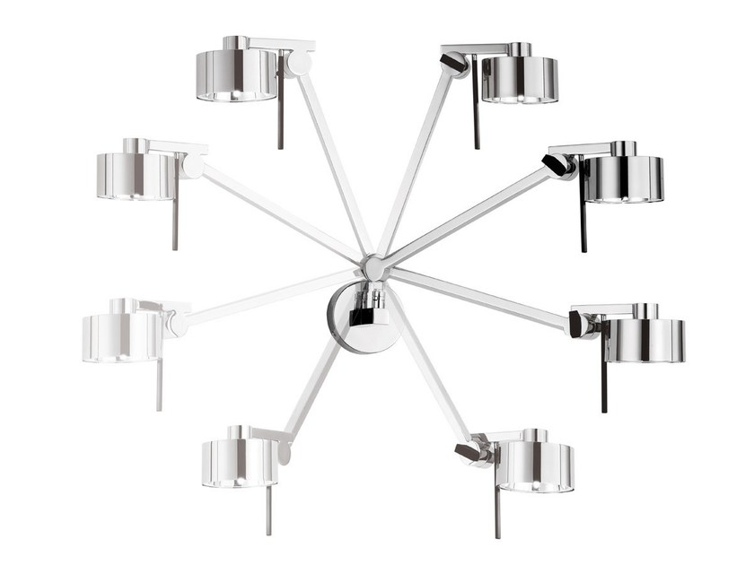 Halogen wall lamp with swing arm AX20 | Wall lamp by AXOLIGHT